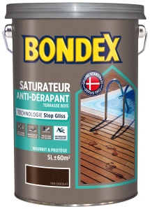Bondex Saturateur anti-dérapant terrasse