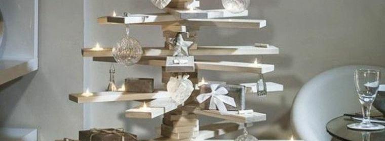 un no l tout en bois avec des sapins originaux 1001 solutions bois. Black Bedroom Furniture Sets. Home Design Ideas